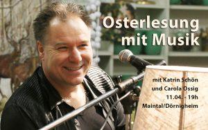 Osterlesung mit Musik @ Restaurant Dick & Doof Maintal | Maintal | Hessen | Deutschland